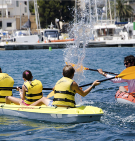 Multiactivity watersports course