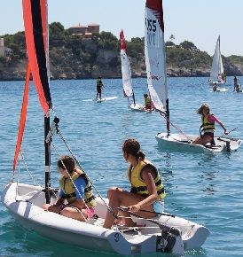 Summer Children Sailing