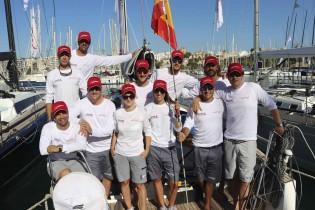 Port Calanova oficial colaborador del Team Michelle durante el Campeonato del Mundo de la clase Swan One Design