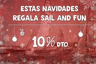 "This Christmas give ""Sail & Fun"""