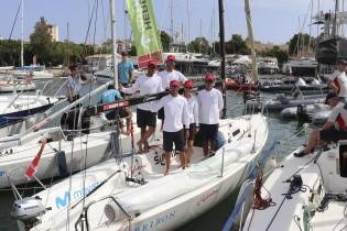 Port Calanova acoge en Calanova Sports Residence al Bribón Movistar durante la Copa del Rey Mapfre